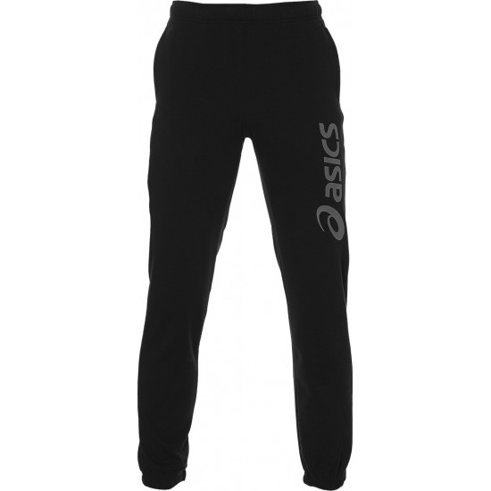 Asics Big Logo Sweat Pant Black-Grey 2031A977-004