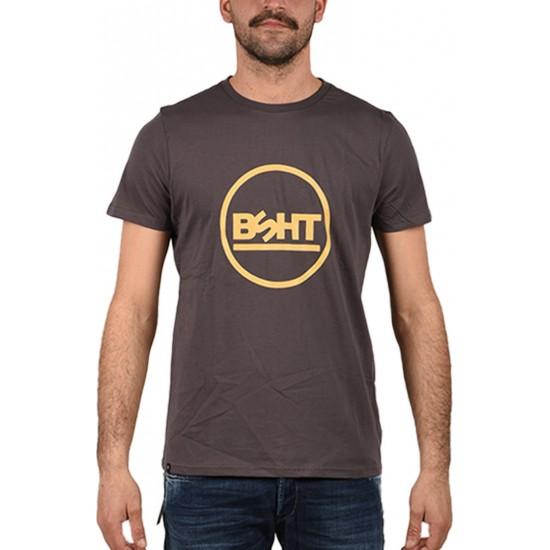 Basehit Ανδρικό T-Shirt 201.BM33.06 EBONY