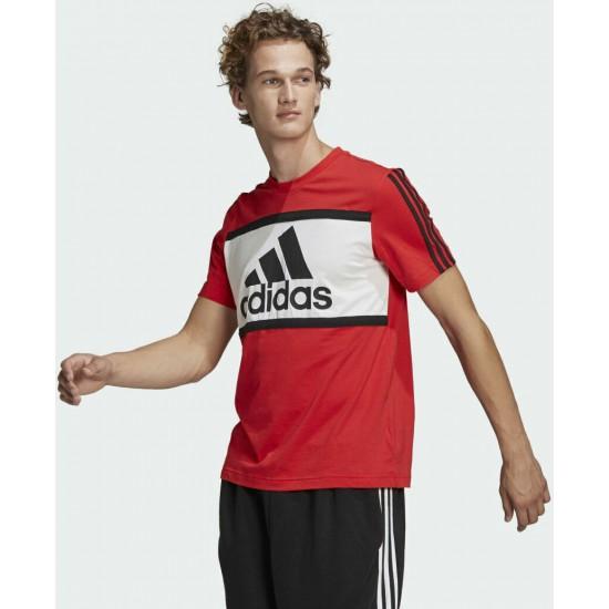Adidas Essentials Logo Colorblock Tee GK8914