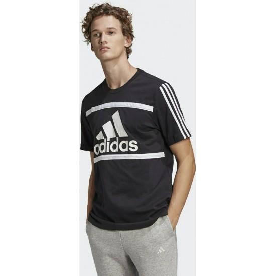 Adidas Essentials Logo Colorblock Tee GK8912
