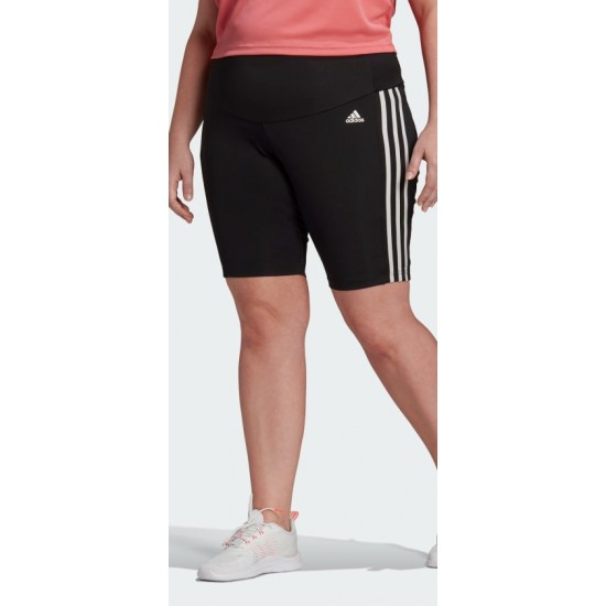 Adidas DESIGNED 2 MOVE HIGH-RISE SPORT SHORT TIGHTS (PLUS SIZE) GL3973