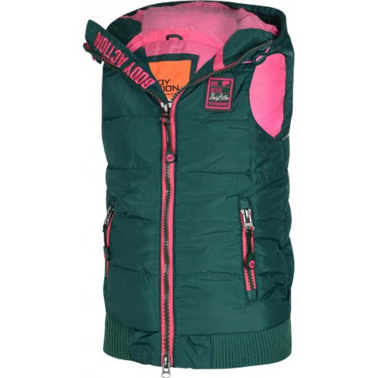 Body Action GIRLS ULTRALIGHT QUILTED VEST 072503