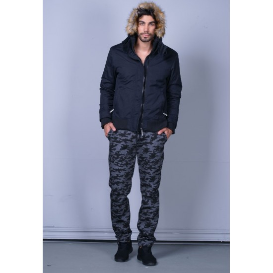 Body Action men relaxed fit pants 023741-03B