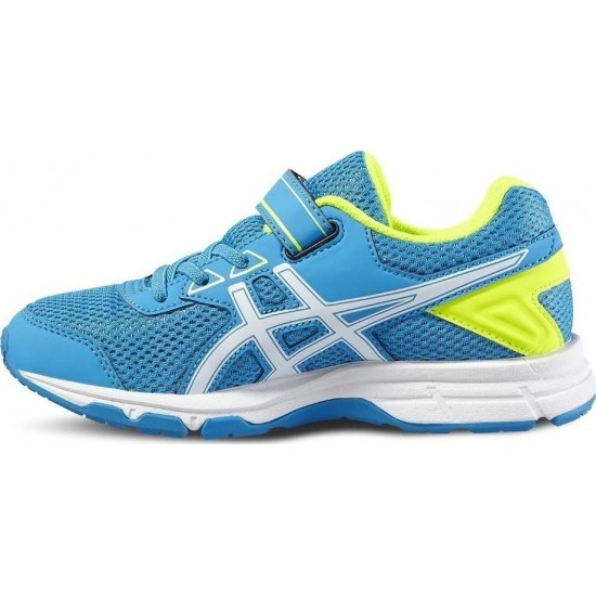 Asics Pre Galaxy 9 PS Blue Jewel/White/Safety Yell