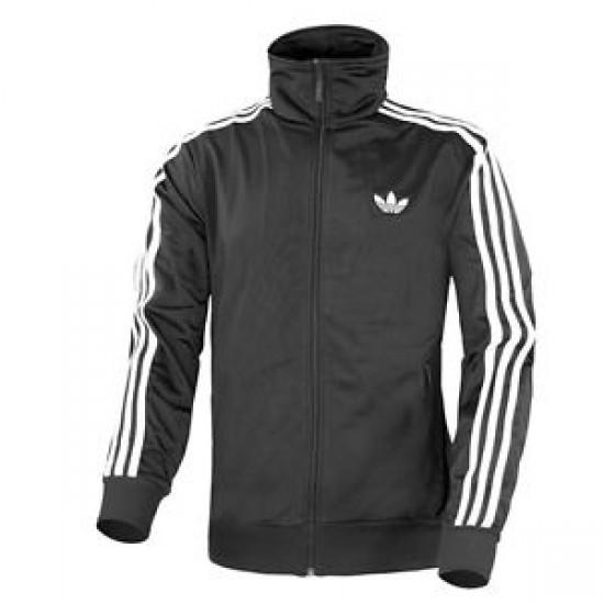 Adidas Men's Firebird Track Jacket Black/White Ori
